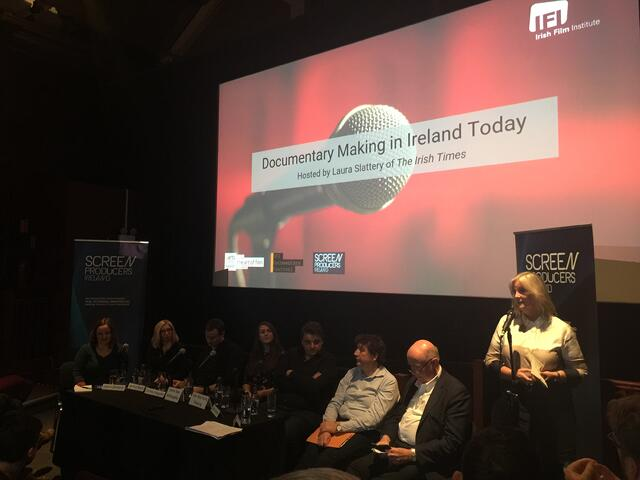 Panel on Irish Documentaries at the Irish Film Festival