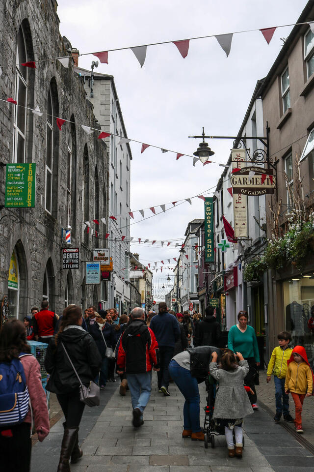 Street in Galway City