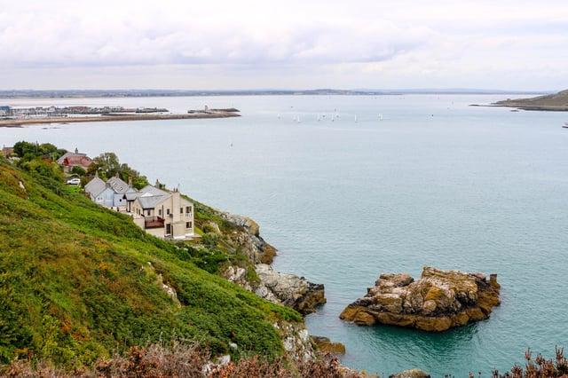 Pretty View of Irish Marina in Howth