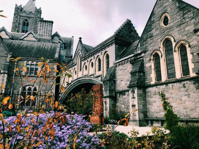 CAPAStudyAbroad_Fall 2019_Dublin_Ellie LaFountain_Dublinia_ChristChurch