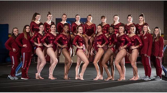 Picture of my Gymnastics Team