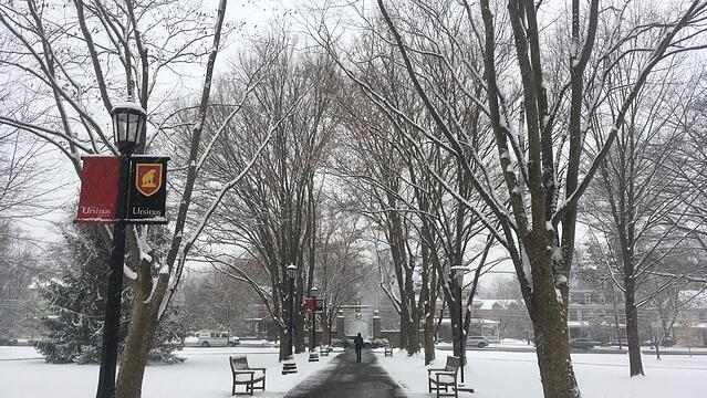Ursinus College in Winter
