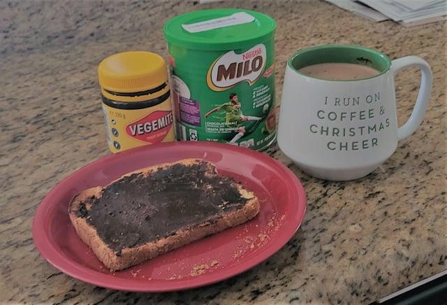Vegemite and Milo for Breakfast