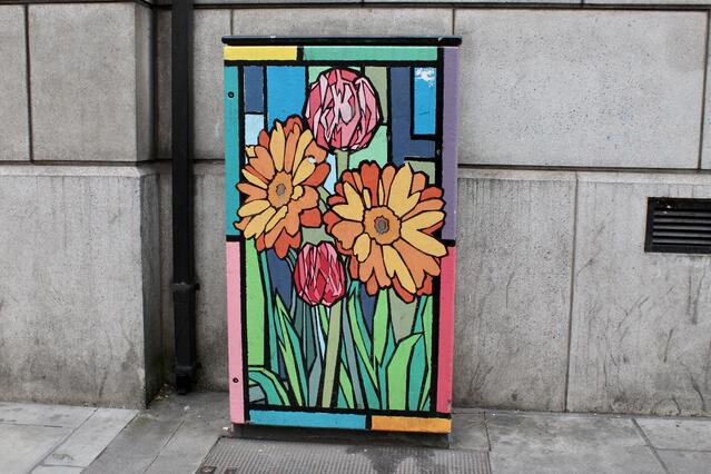 Another Box with Flowers