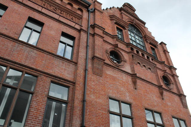 Brick Building in Dublin