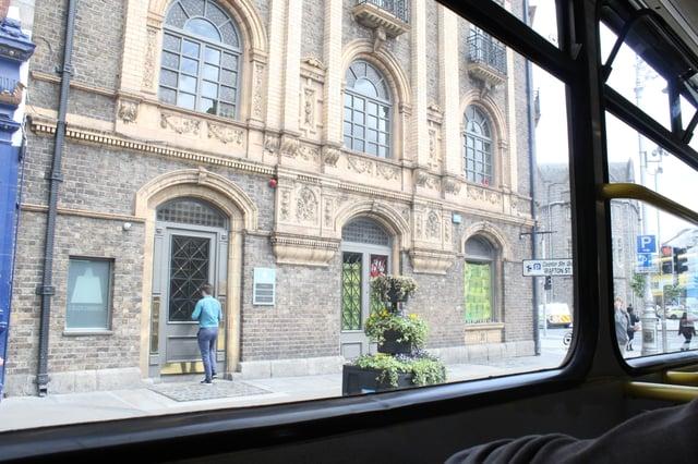 Bus Ride to Apartment