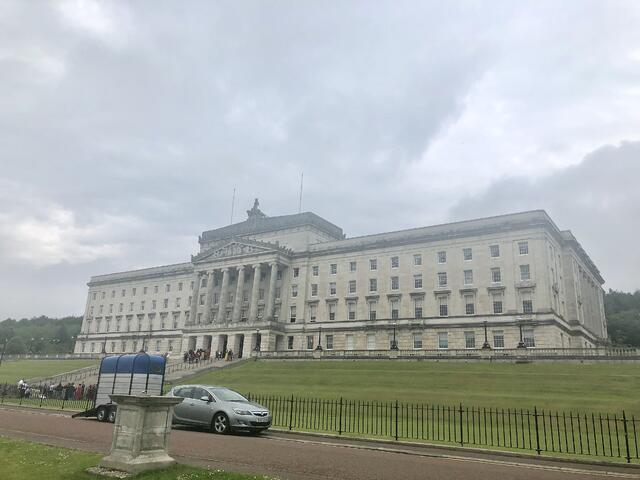 Belfast's Government Building.
