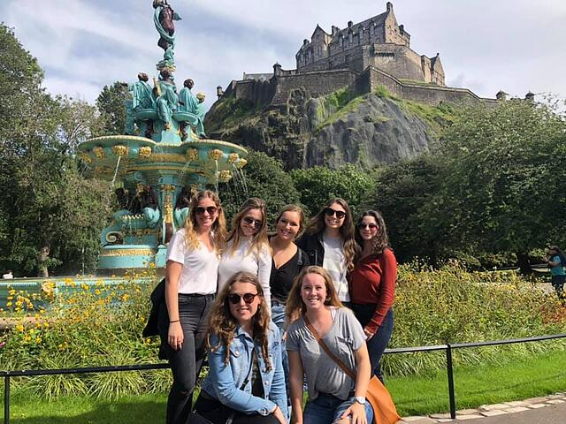 A group of us from the UF Program Touring Scotland