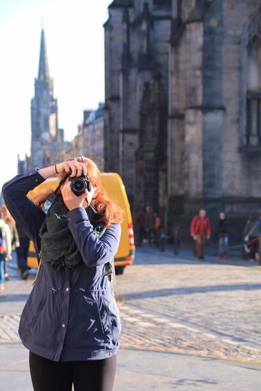 CAPAStudyAbroad_Fall2017_Dublin_From Elizabeth Leahy - Taking a Photo in Edinburgh, Scotland.png