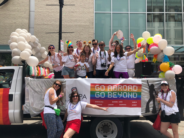 CAPA DisGO Beyond Float Truck at Boston Pride 2018