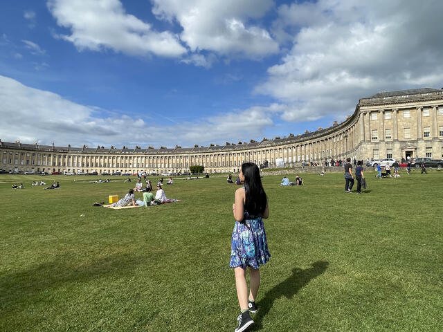 Dresses and Converse are life-savers! (Also this picture was from a Bath & Stonehenge trip!)