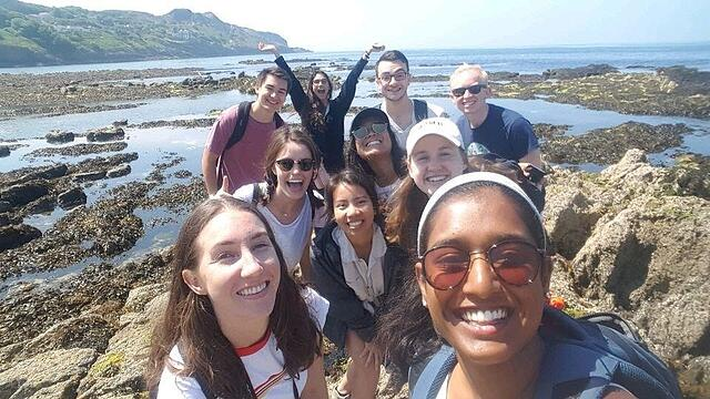 CAPAStudyAbroad_Dublin_Summer2018_From Grace Vitale - Grace and friends in Howth