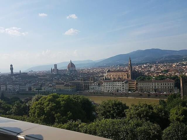 CAPAStudyAbroad_Florence_Summer2018_From CeDrice Howard - view of Florence