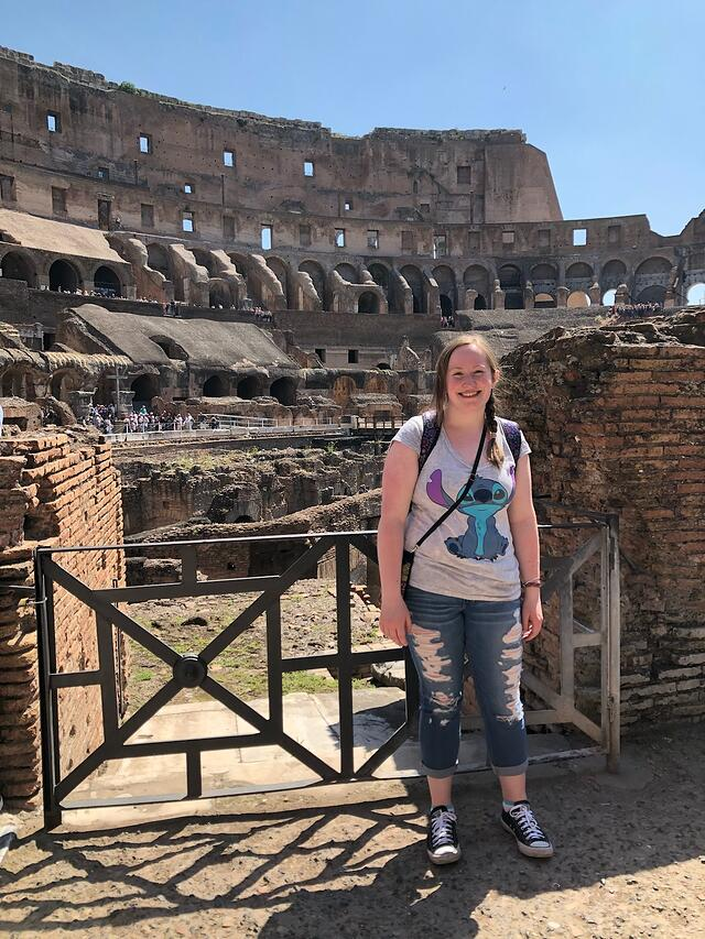CAPAStudyAbroad_Florence_Summer2018_From Lindsey Feamster - Colosseum