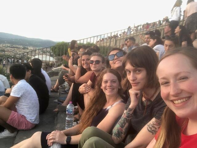 CAPAStudyAbroad_Florence_Summer2018_From Lindsey Feamster - selfie at Piazzale Michelangelo-1