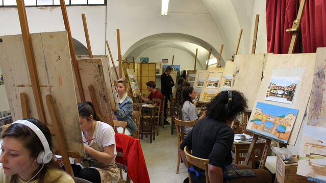 Art Class in Florence