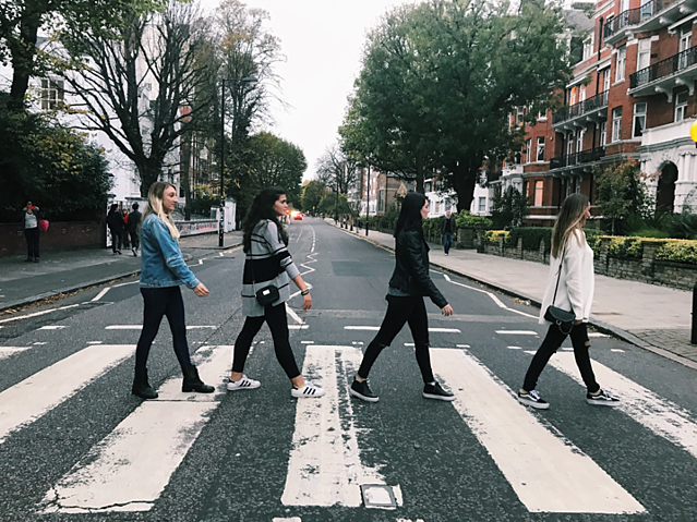 CAPAStudyAbroad_Fall2017_Florence_From Hayley Parker - Fall Break_Beatles Walk on Abbey Road.png