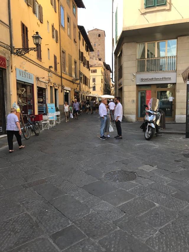 Touring Florence