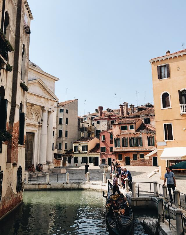 On the Other Side of the Venetian Canal