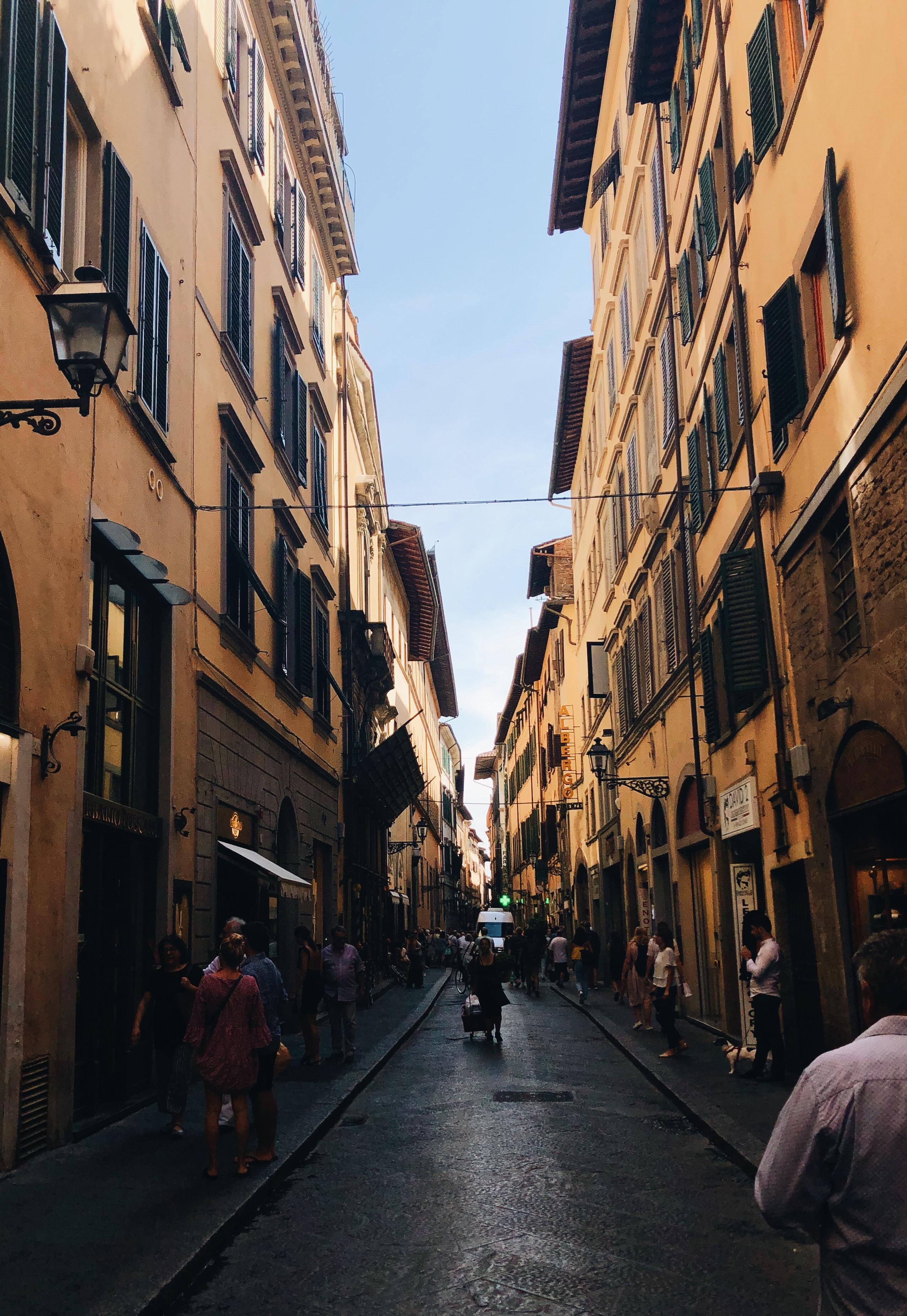 Walking Through the City