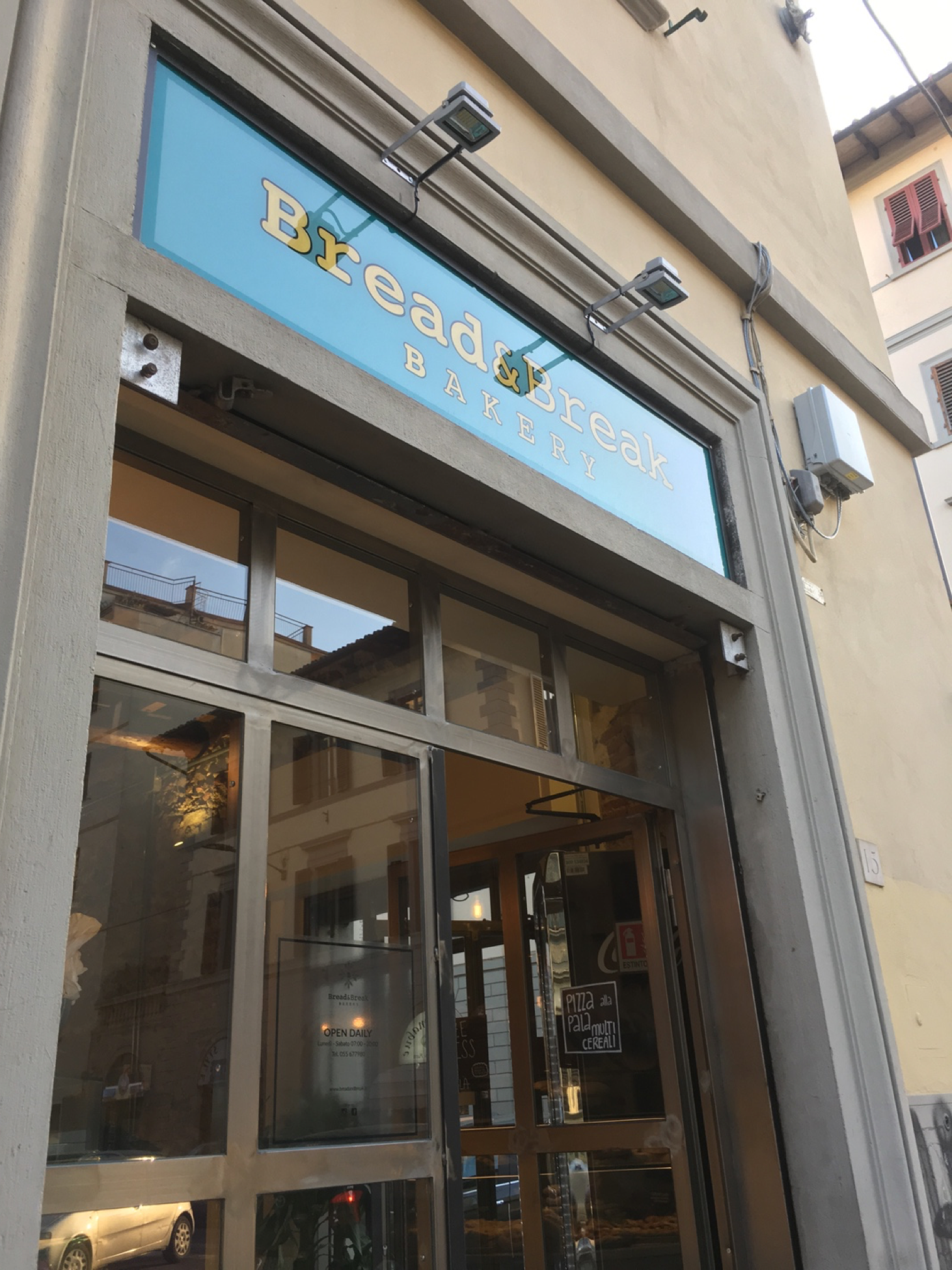 Bread and Break Bakery in Florence