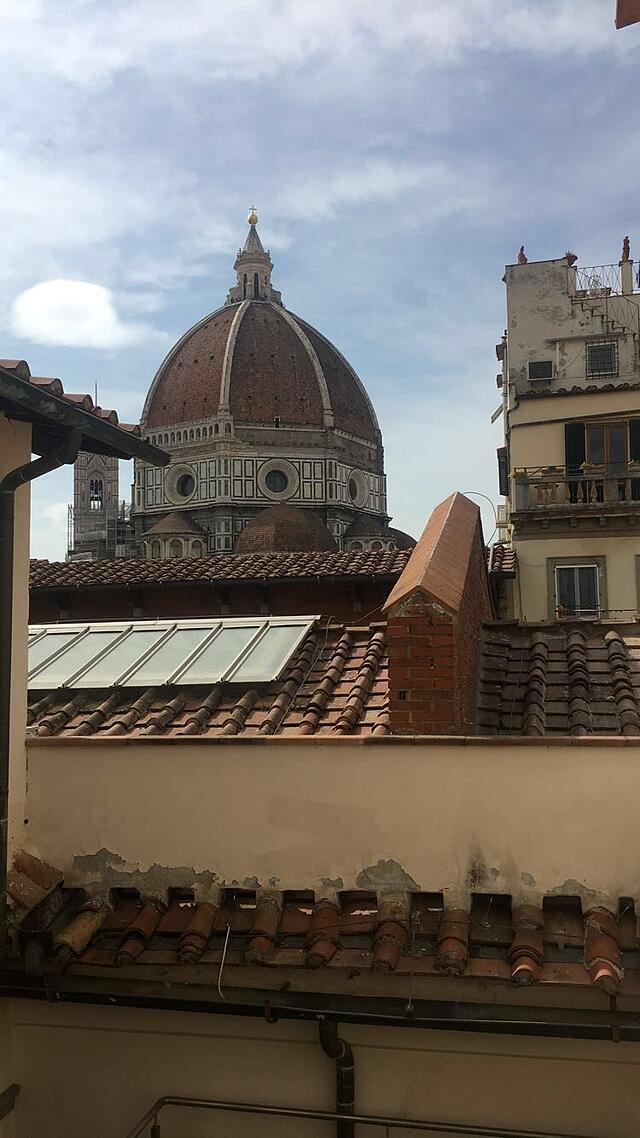 View from the Library in Florence