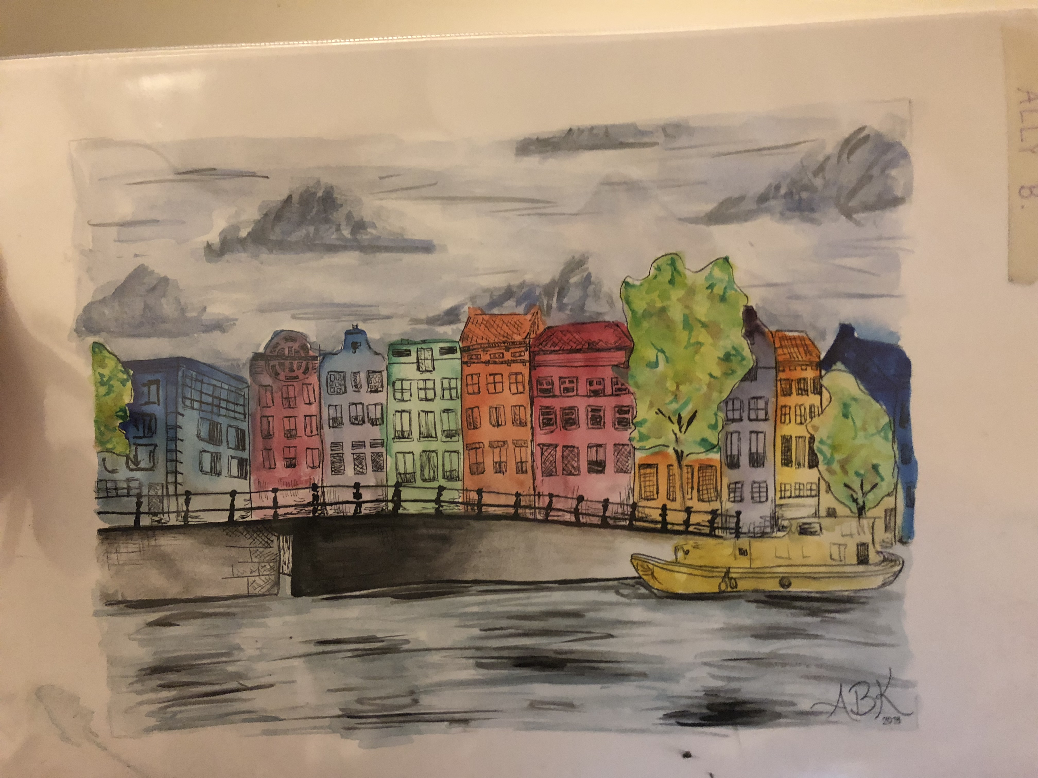 CAPAStudyAbroad_Florence_Summer2018_From Allyson Barnes - Artwork of Amsterdam