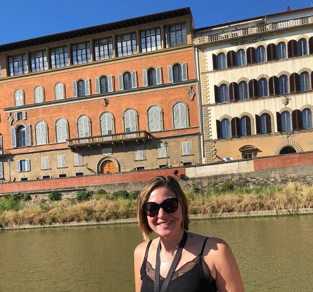 CAPAStudyAbroad_Florence_Summer2018_From Allyson Barnes - On a Boat Tour of the Arno River