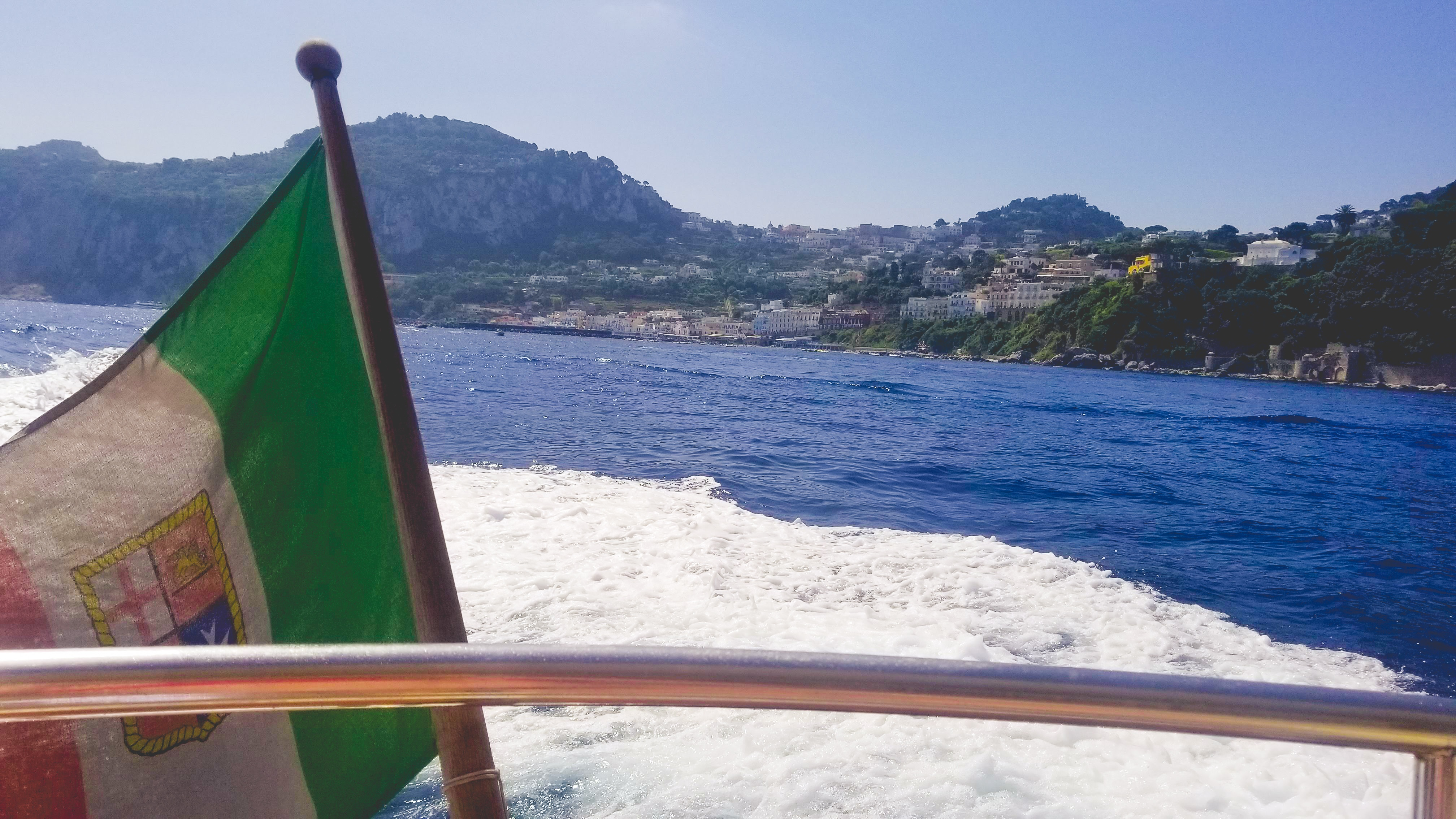 On a Boating Adventure in Capri
