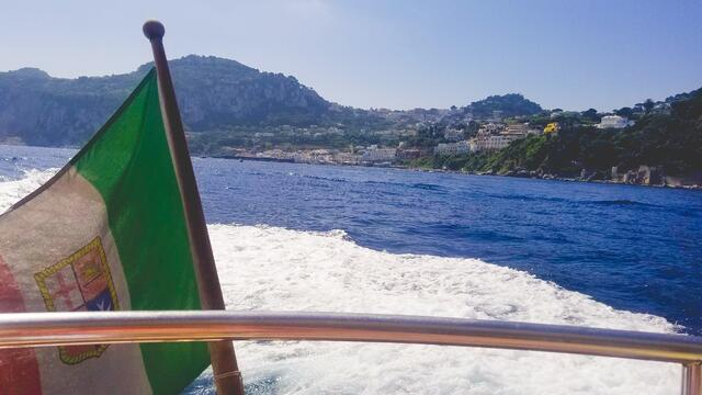 On a Boating Adventure in Capri