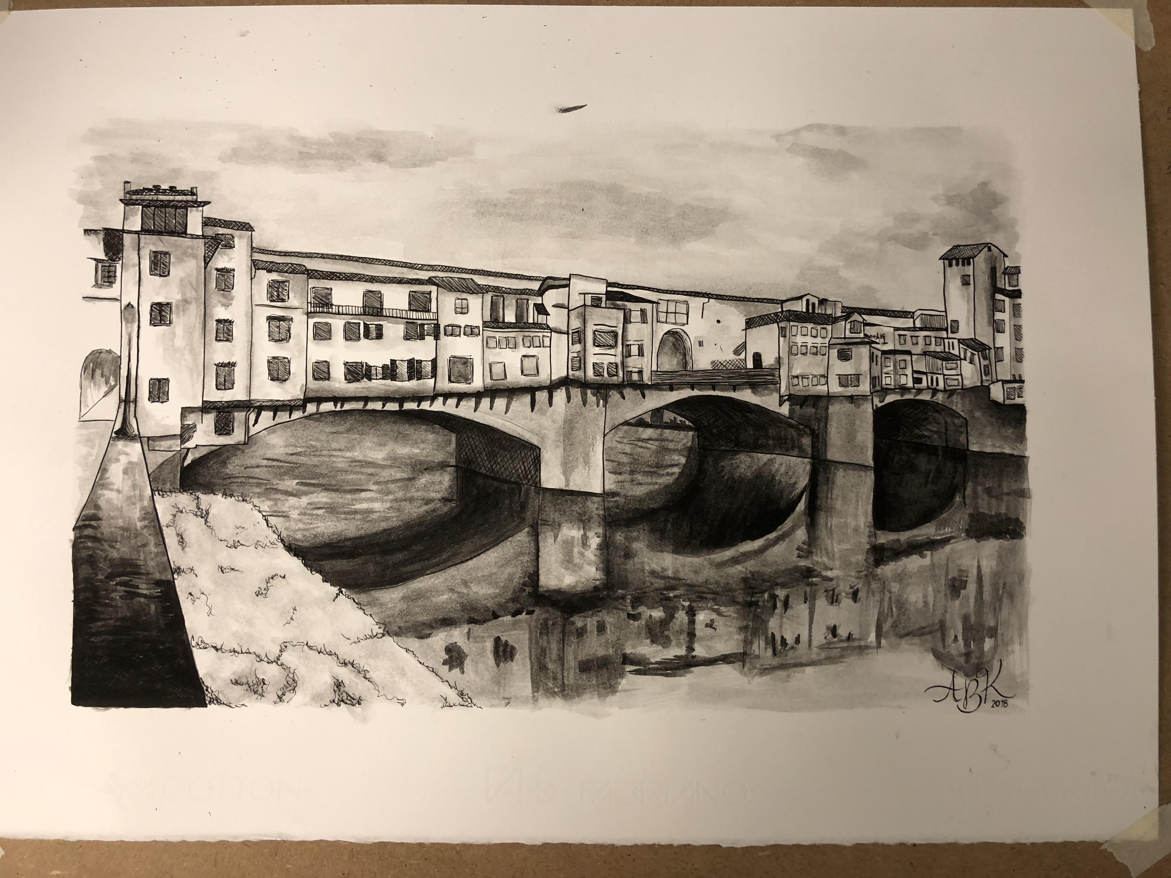 Ponte Vecchio Artwork