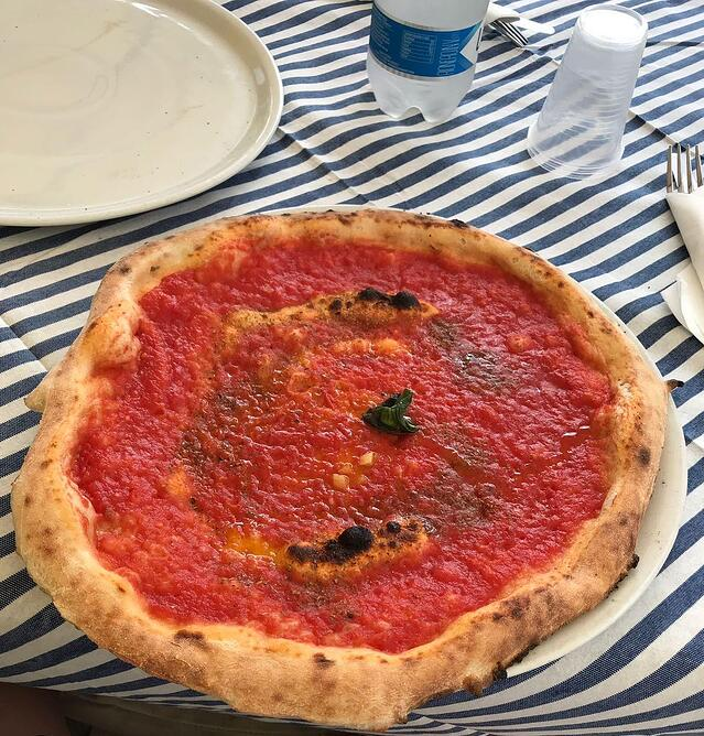 CAPAStudyAbroad_Florence_Summer2018_From Allyson Barnes - Trying Local Pizza
