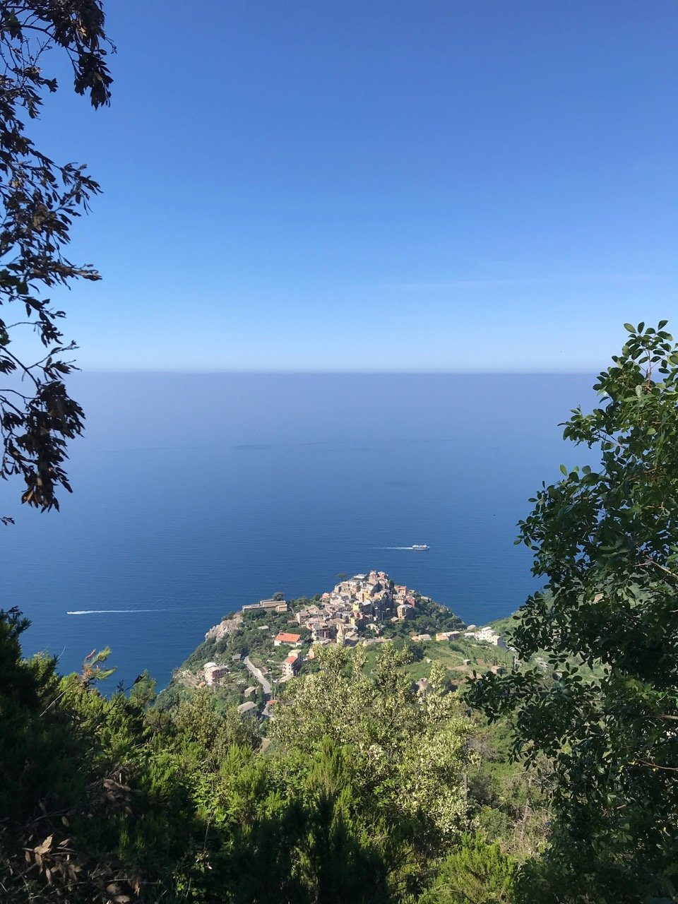 CAPAStudyAbroad_Florence_Summer2018_From Hannah Hardenbergh - Corniglia from Above