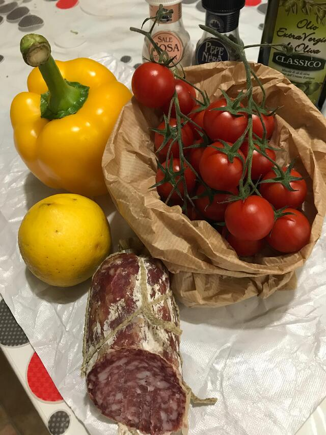 Fresh Produce for Cooking at the Apartment