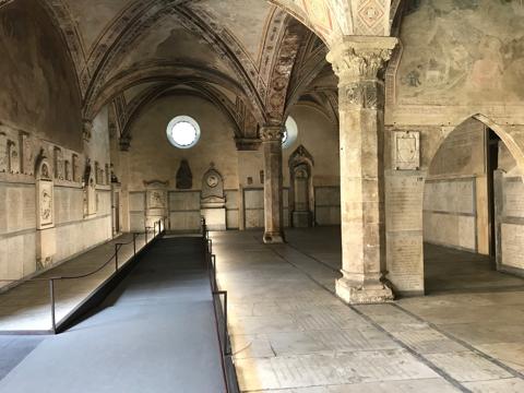CAPAStudyAbroad_Florence_Summer2018_From Hannah Hardenbergh - Inside Basilica di Santa Maria Novella