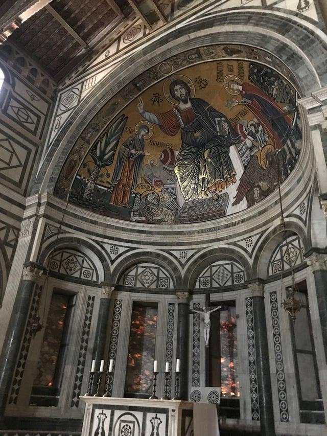 CAPAStudyAbroad_Florence_Summer2018_From Hannah Hardenbergh - Inside San Miniato al Monte