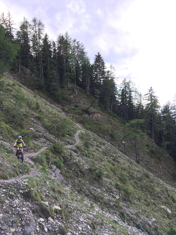 Me Traversing Down a Path to Ortisei