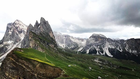 Mountains Atop Seceda