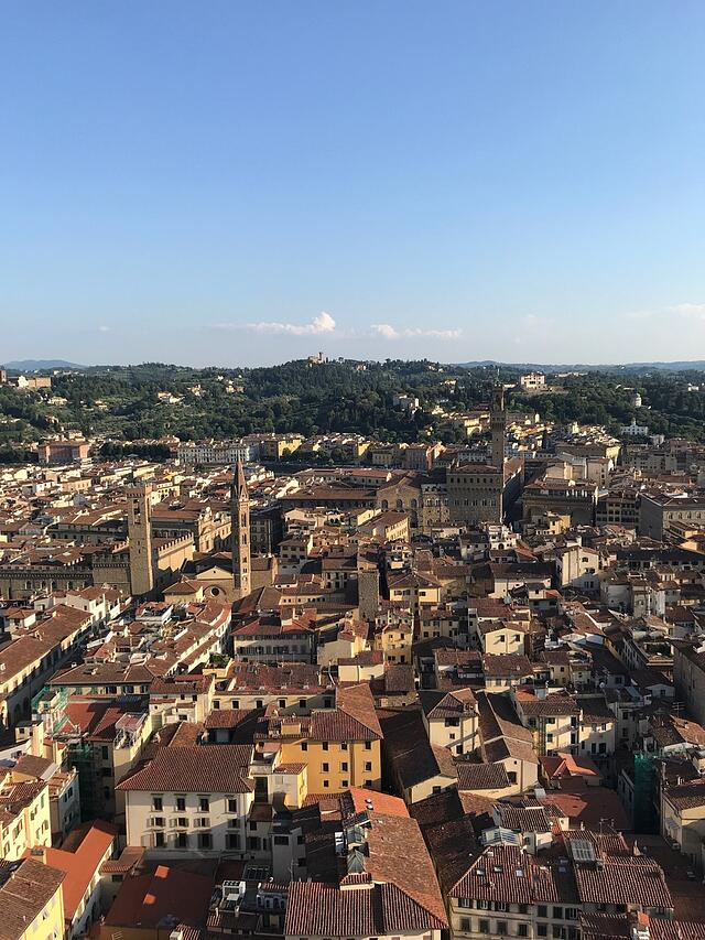CAPAStudyAbroad_Florence_Summer2018_From Hannah Hardenbergh - On Top of the Duomo