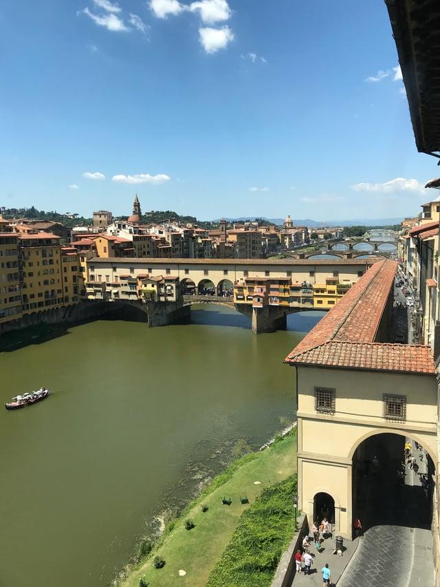 Ponte Vecchio and Il Fiume del Arno