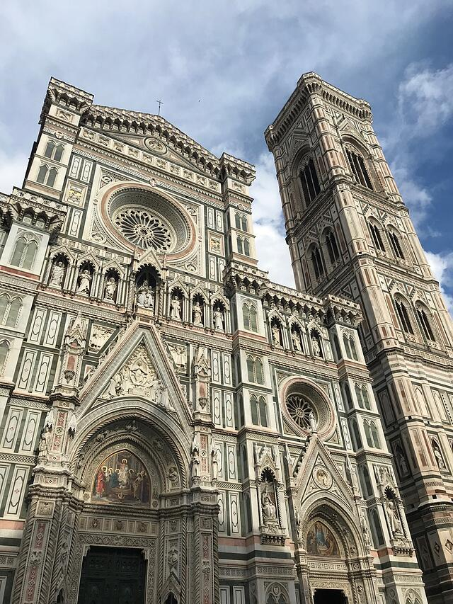 CAPAStudyAbroad_Florence_Summer2018_From Hannah Hardenbergh - The Facade of Cattedrale di Santa Maria del Fiore