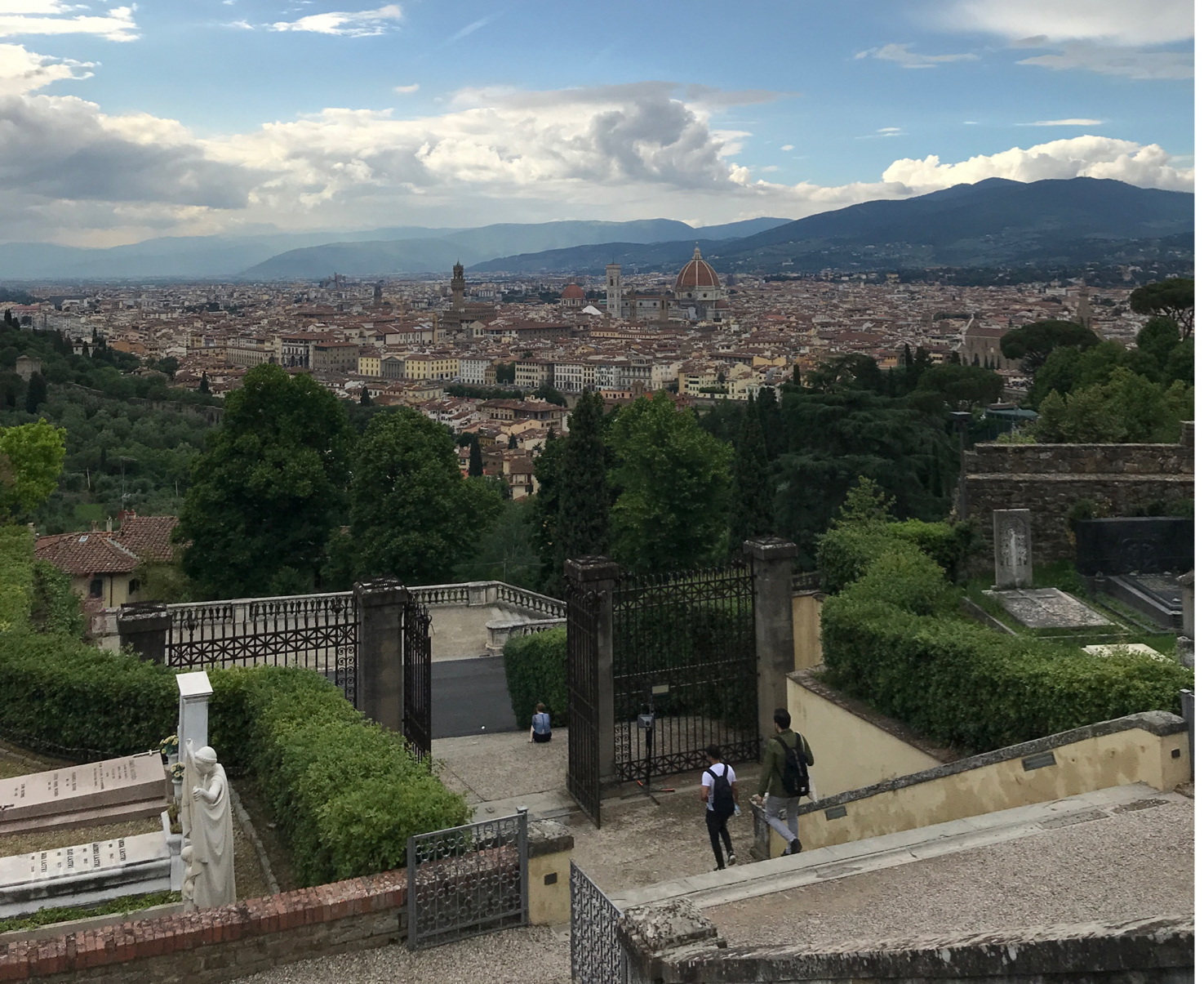 View of Florence from San Miniato al Monte