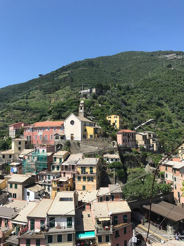 CAPAStudyAbroad_Florence_Summer2018_From Hannah Hardenbergh - Vineyards Above Vernazza