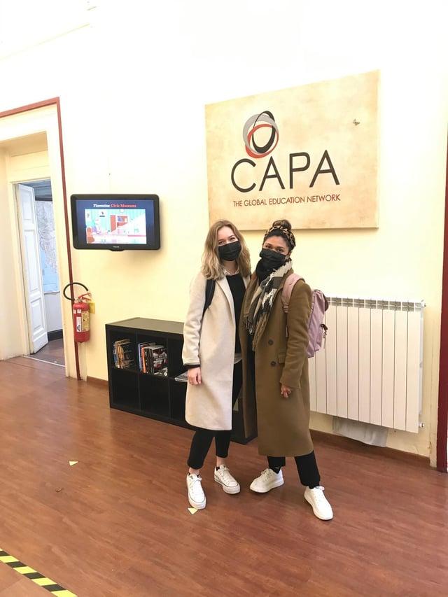 CAPAStudyAbroad_Spring2021_Florence_At CAPA Florence