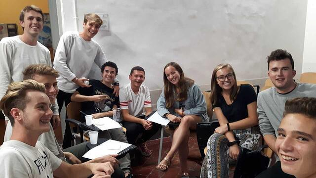 Another Group of Students