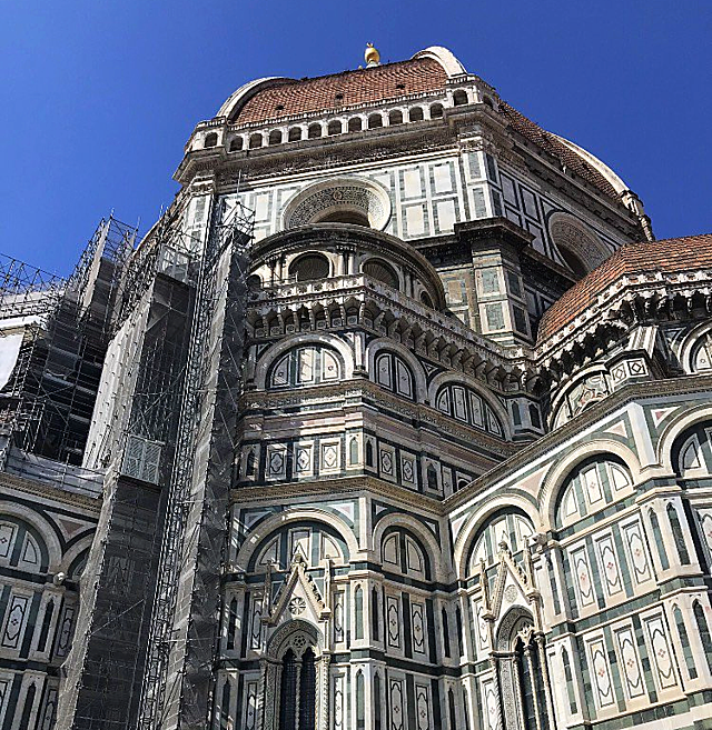 Duomo from the Outside in Florence