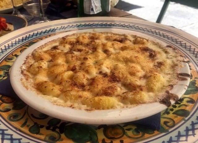 Gnocchi from Osteria Santa Spirito