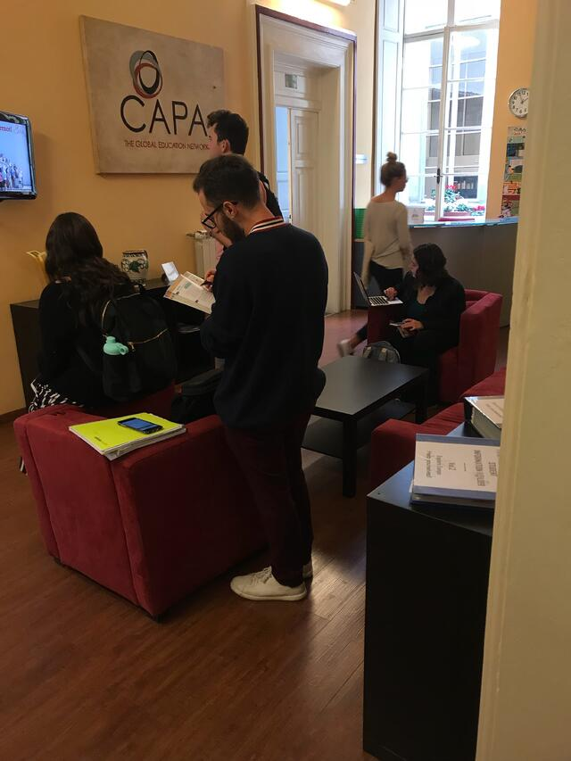 CAPA Lounge and Study Space