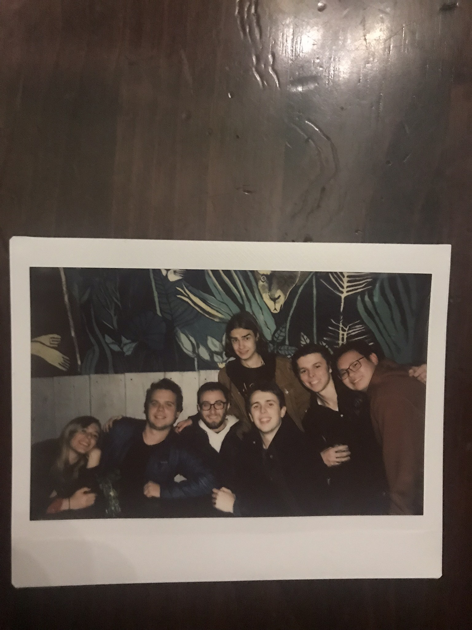 polaroid of me and my friends