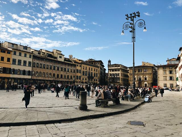 A different view of Santa Croce